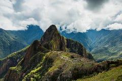 Machu Picchu, αρχαία archeological περιοχή, Περού Στοκ Εικόνα