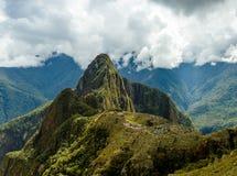 Machu Picchu, αρχαία archeological περιοχή, Περού Στοκ Εικόνες