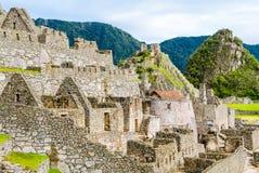 Machu Picchu, καταστροφές Incas στις Άνδεις σε Cuzco, Περού Στοκ Εικόνες
