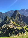 Machu picchu3, Περού στοκ εικόνες
