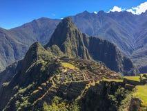 Machu picchu1, Περού στοκ εικόνες με δικαίωμα ελεύθερης χρήσης
