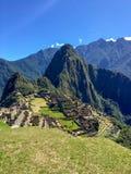 Machu picchu3, Περού στοκ εικόνα με δικαίωμα ελεύθερης χρήσης