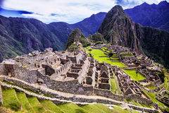 Machu Picchu - Περού Στοκ εικόνα με δικαίωμα ελεύθερης χρήσης