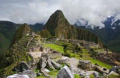 Machu Picchu στο Περού Στοκ φωτογραφία με δικαίωμα ελεύθερης χρήσης
