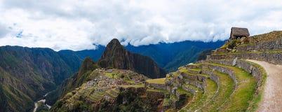 Machu Picchu, археологическое место, Перу, Inca Стоковое Фото
