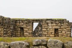 Machu Picchu в Перу стоковые фотографии rf