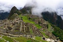 Machu Picchu в Перу, Southa Америка стоковые фотографии rf
