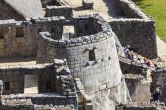MACHU PICCHU, ПЕРУ, 12-ОЕ АВГУСТА: Machu Picchu, было конструированным Peruvi Стоковое Фото