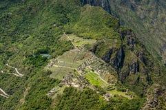 Machu Picchu Перу Стоковые Фотографии RF