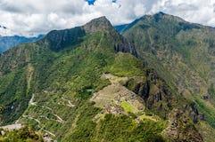 Machu Picchu Перу Стоковая Фотография