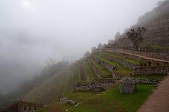 Machu Picchu Потерянный город Inkas в горах Перу Стоковое фото RF