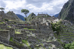 Machu Picchu -秘鲁 图库摄影
