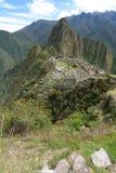 Machu Picchu 秘鲁 免版税库存图片