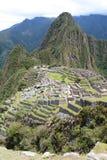 Machu Picchu 秘鲁 免版税图库摄影