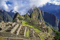 Machu picchu. Historic Sanctuary of Machu Picchu. Peru Stock Photos