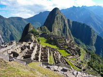 Machu Picchu. The lost city of the Inca's, Machu Picchu Royalty Free Stock Images