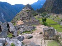 Machu Picchu. Scenic view of Inca city ruins of Machu Picchu, Urubamba Valley, Peru Royalty Free Stock Image