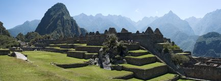 Machu Picchu Fotografie Stock Libere da Diritti