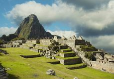 Machu-Picchu Royalty Free Stock Photo