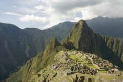 Machu Picchu Stock Photo