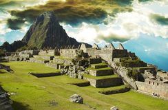 Machu-Picchu royalty-vrije stock fotografie