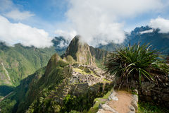 Machu Picchu Royalty-vrije Stock Fotografie