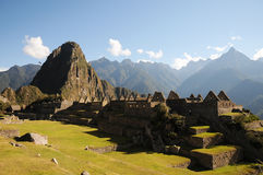 Machu Picchu. Peru's most important Inca site Royalty Free Stock Photos
