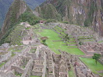 Machu Picchu. The ancient inca city of Machu Picchu,Peru Stock Images