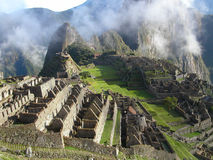 Machu Picchu. Inca ruins of Machu Picchu.  Peru Royalty Free Stock Images