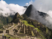 Machu Picchu. Ancient city (Peru Stock Images