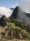 Machu Picchu. Ancient city (Peru Royalty Free Stock Images