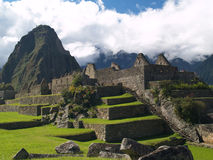 Machu Picchu. Ancient city (Peru Royalty Free Stock Photography