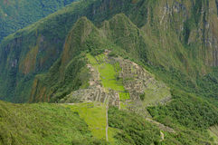 Machu Picchu. Royalty Free Stock Photo