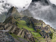 Machu Picchu. Ancient city of Machu Picchu Royalty Free Stock Photos
