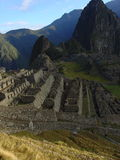 Machu Picchu. Overlooking Machu Picchu at Sunrise Stock Images
