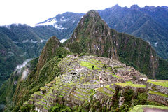 Machu Picchu Стоковое Изображение