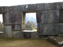 Machu Picchu Stock Afbeeldingen