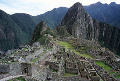 Machu Picchu. In Peru Stock Images