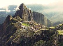 Machu Picchu Arkivbilder