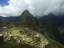 Machu Picchu Royaltyfria Bilder