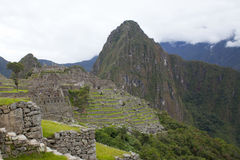 Machu Picchu 图库摄影