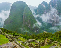 Machu Picchu from above Stock Photo
