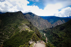Machu Picchu - The alligator Stock Image