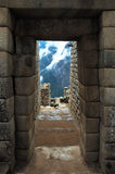 Machu Picchu, alter Inka Doo Lizenzfreie Stockbilder