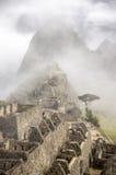 Machu Picchu, amanhecer, Peru imagem de stock royalty free
