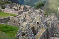 Machu Picchu - ancient city of Incas. Royalty Free Stock Photography