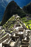 Machu Picchu, the ancient Inca city in the Andes, Peru Stock Image