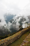 Machu Picchu, Ancient Inca Rui. Machu Picchu, Inca Ruins at the end of Inca Trail in the Andes Mountains stock photos
