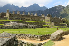 Machu Picchu, Ancient Ruins of Inca Royalty Free Stock Photography