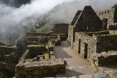 Machu Picchu - ancient town of Incas. Stock Image